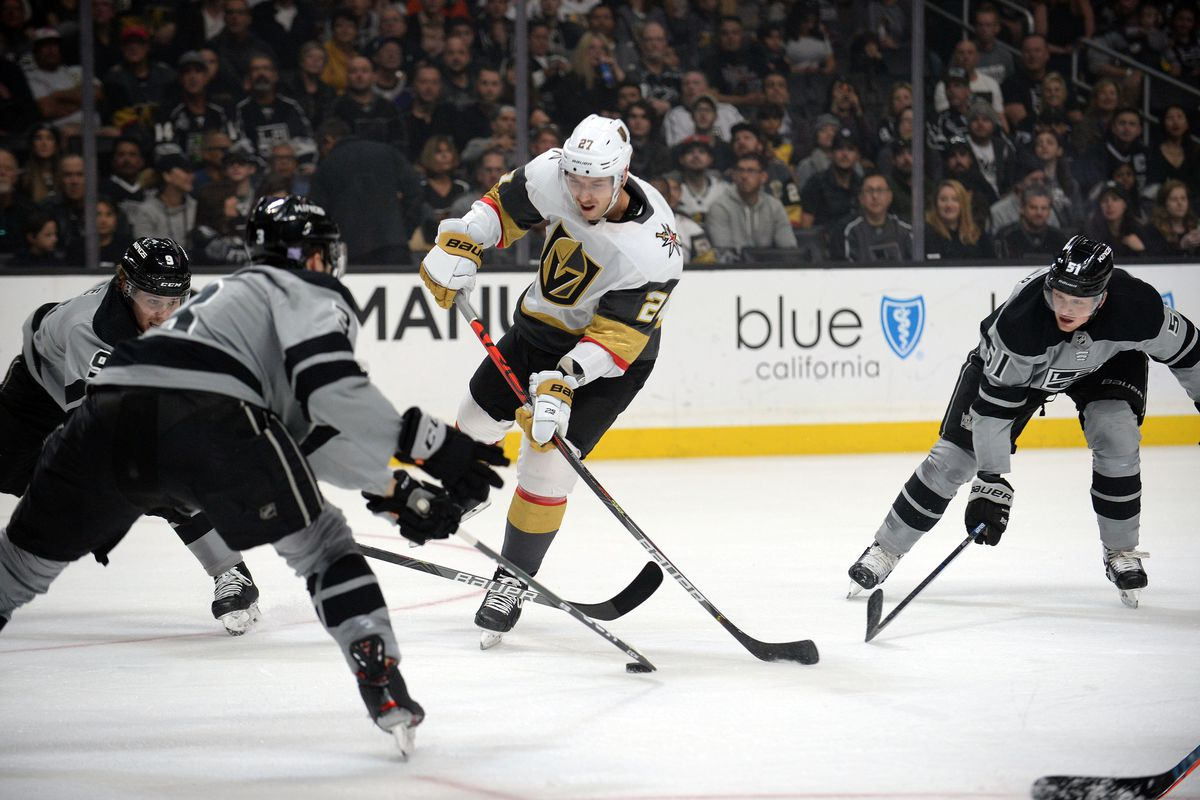 Golden Knights lose fifth in a row, 4-3 to Kings