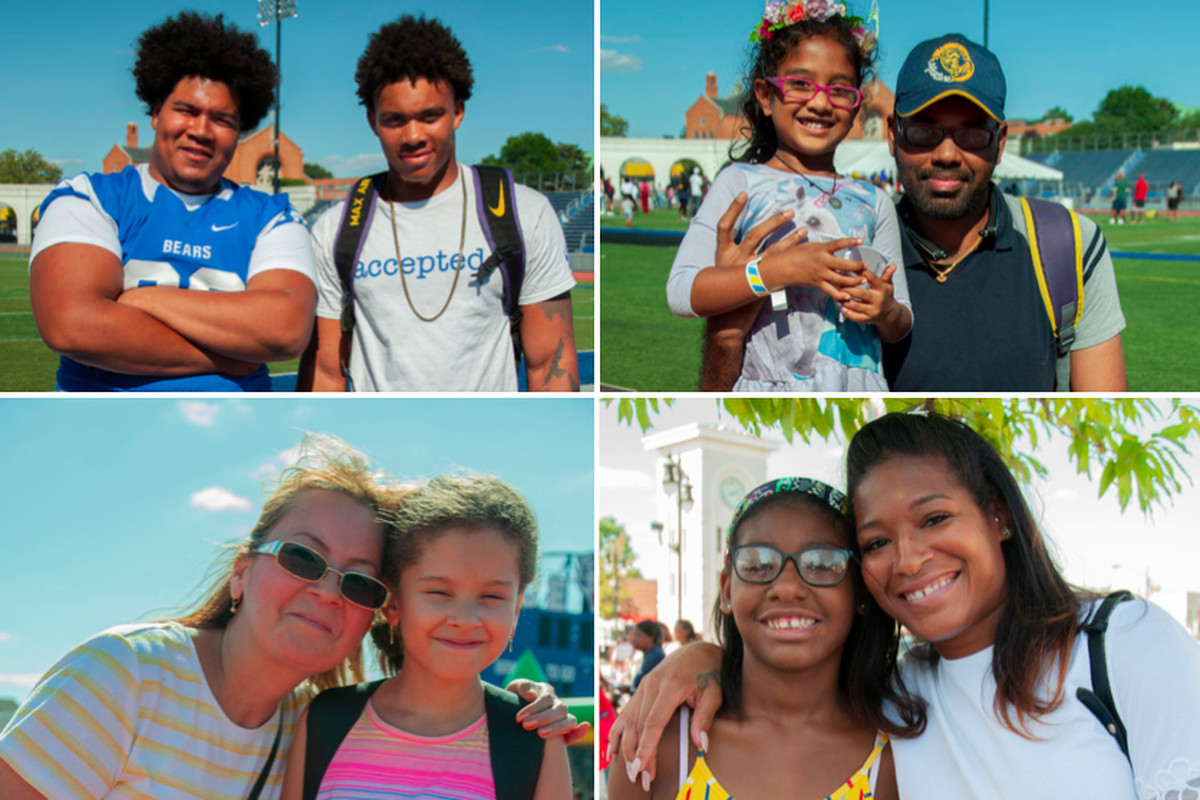 Newark parents and students attended a district back-to-school rally in August 2019.
