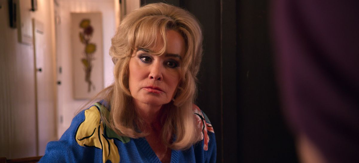 """Jessica Lange plays a cancer patient's protective grandma on """"The Politician."""""""