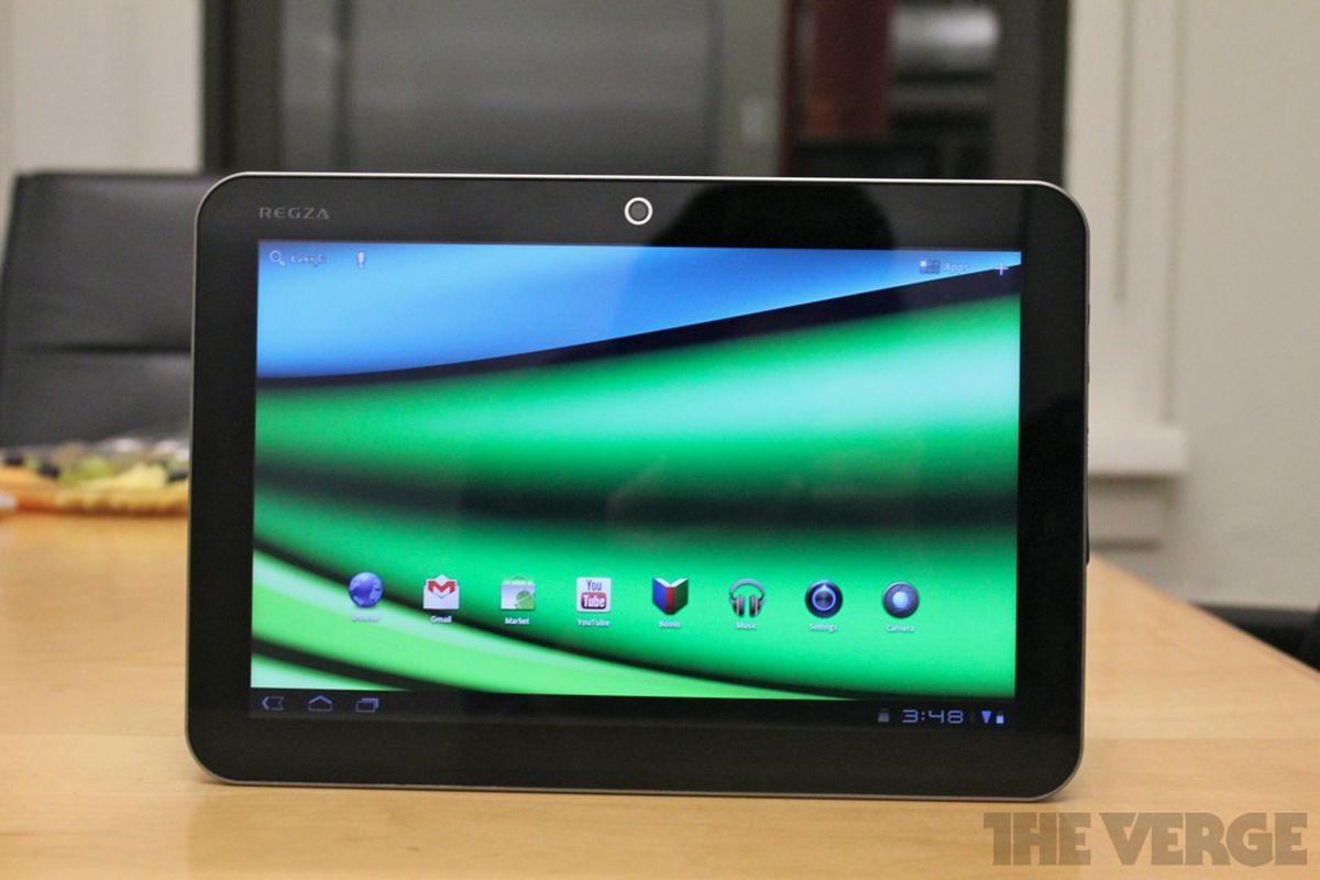 Gallery Photo: Toshiba Excite X10 hands-on pictures
