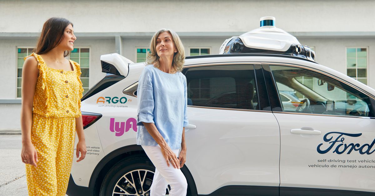 photo of Ford's self-driving cars will be available on Lyft's platform in Miami and Austin image