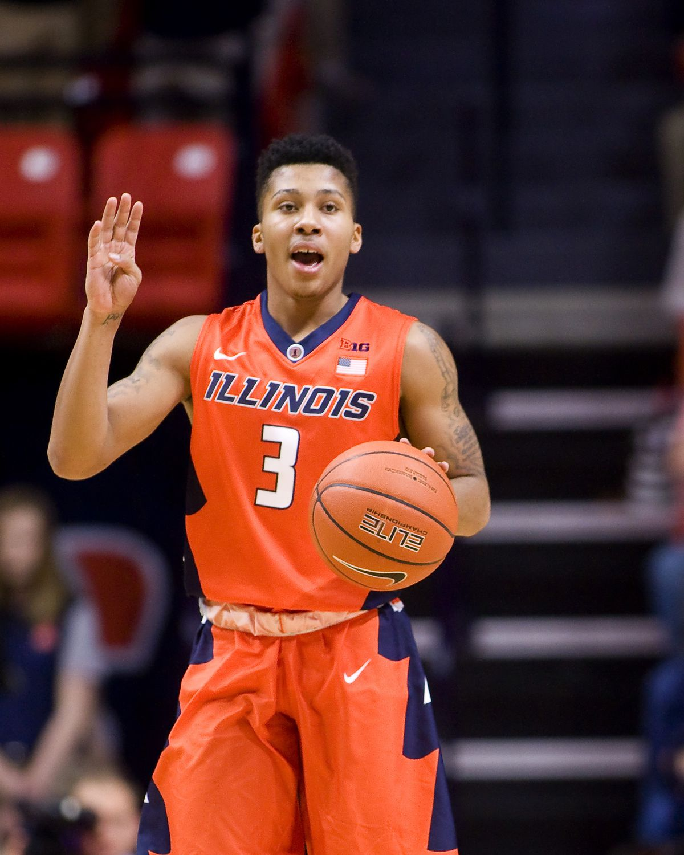 NCAA Basketball: Penn State at Illinois