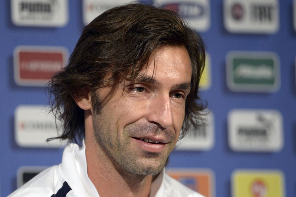 Andrea Pirlo Panenka's his way into our central midfield, but who joins him? Read on and find out.