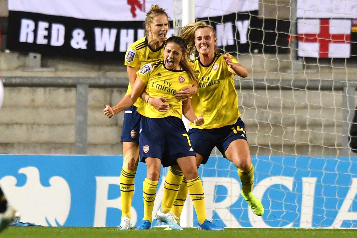 Manchester United Women v Arsenal Women - Barclays FA Women's Super League - Leigh Valley Sports Park