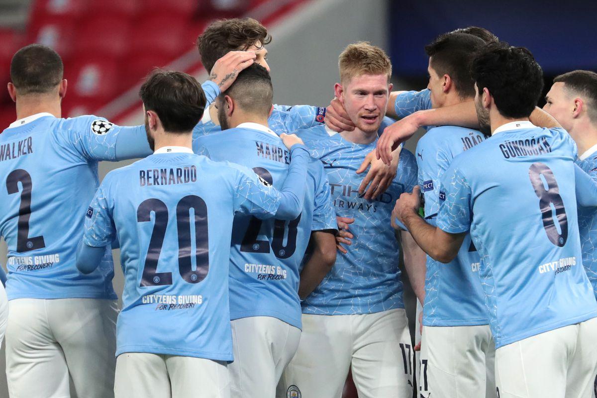 Quick Match Recap: Manchester City 2-0 (4-0) agg. v Borussia Monchengladbach  - Bitter and Blue