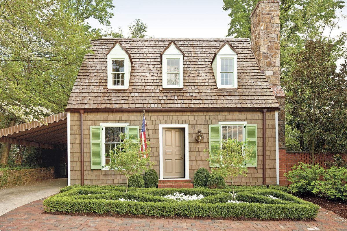Benjamin Moore Georgian Green 6 jaw-dropping curb-appeal makeovers - this old house