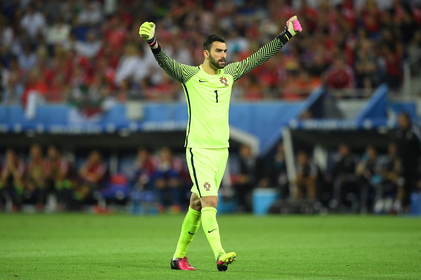 Goalkeeper Rui Patricio was Portugal s most important player in