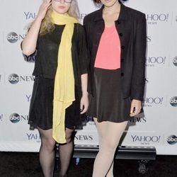 Pussy Riot's Maria Alyokhina and Nadezhda Tolokonnikova at the Yahoo News/ABCNews Pre-White House Correspondents' dinner reception