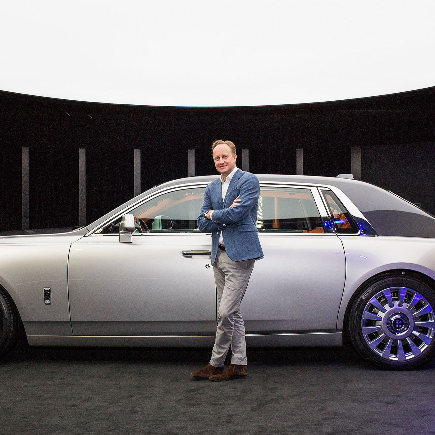 The Rolls Royce Phantom Design Opens Doors For An Electric Future The Verge
