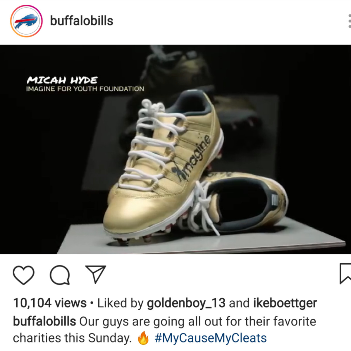 a13d0abb1cf Offensive tackle Jordan Mills will be wearing cleats for The Jordan Mills  Foundation