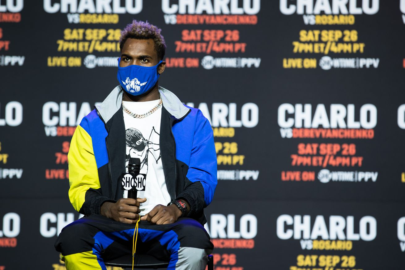 SHO Charlo Doubleheader Presser 007.0 - Charlo, Derevyanchenko both confident of success ahead of fight
