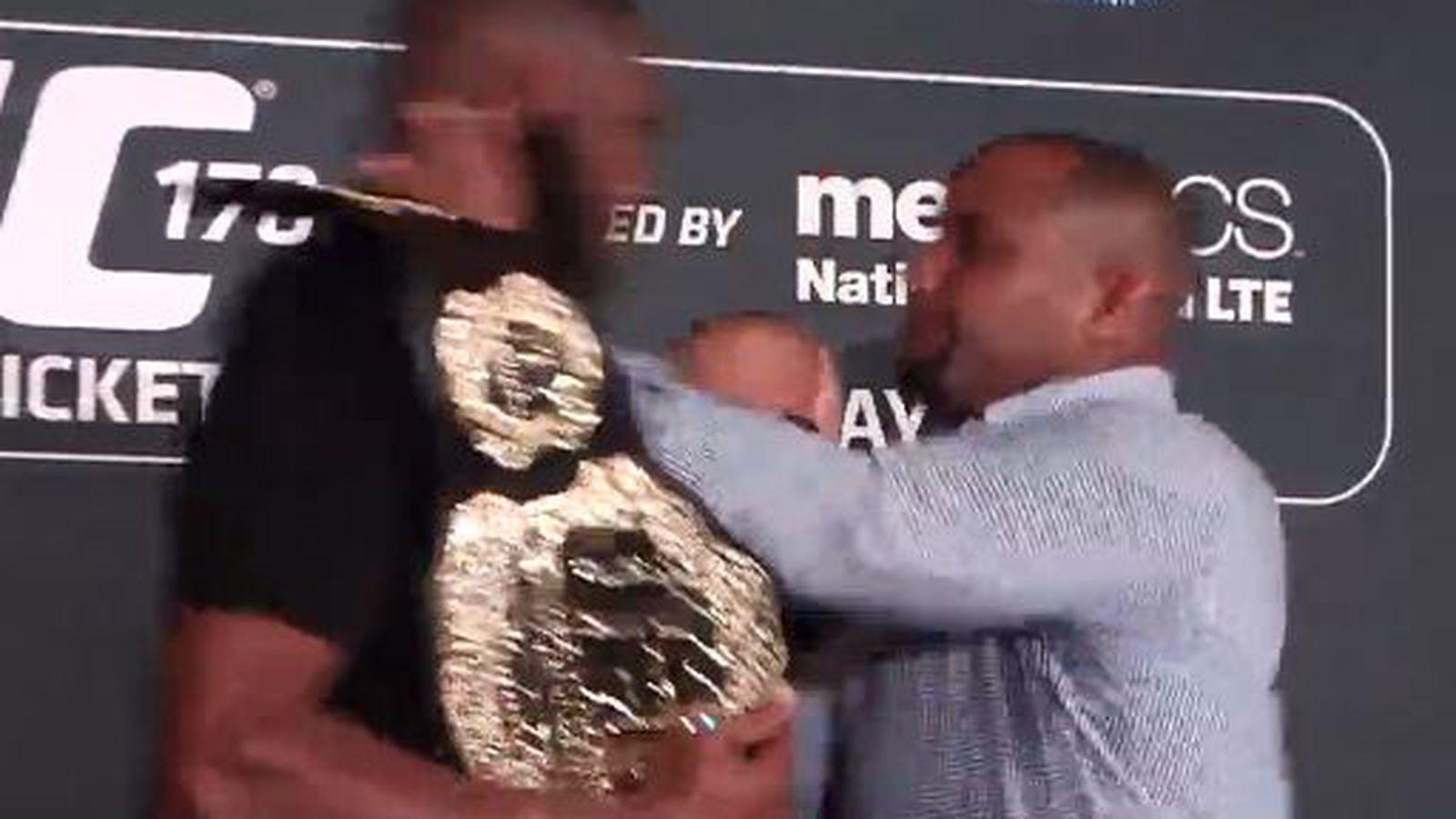 Jon Jones, Daniel Cormier fight at UFC 178 media day