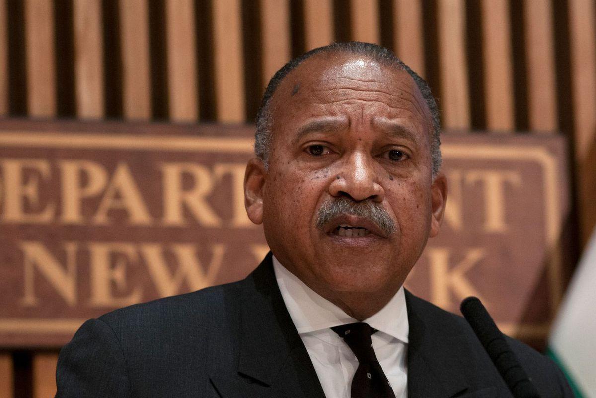NYPD First Deputy Commissioner Benjamin Tucker