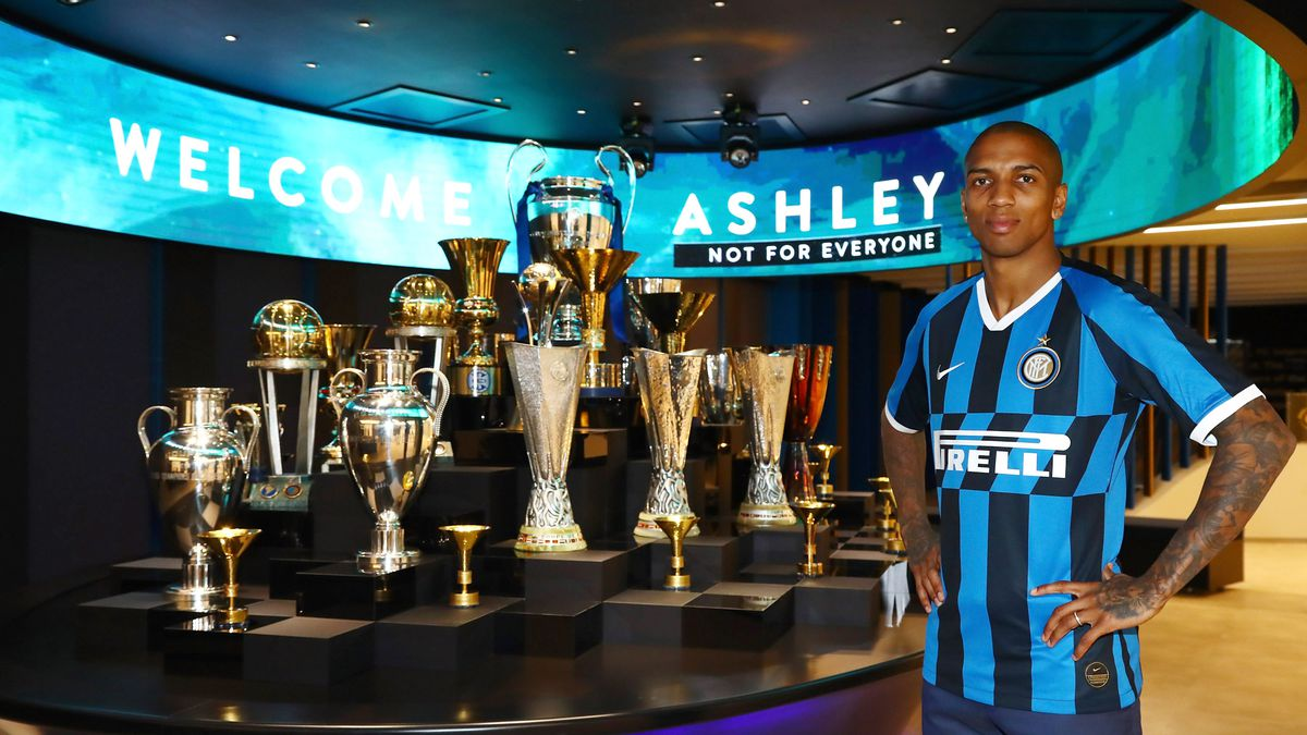 FC Internazionale Unveils New Signing Ashley Young