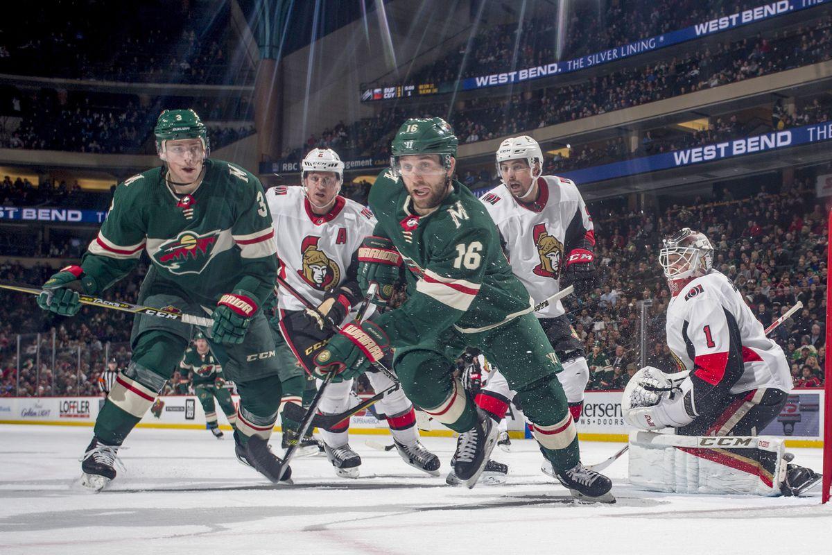 Ottawa Senators v Minnesota Wild
