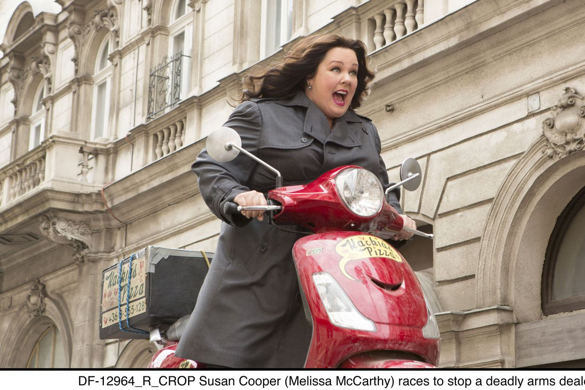 Melissa McCarthy embarks upon a thrilling chase in Spy.