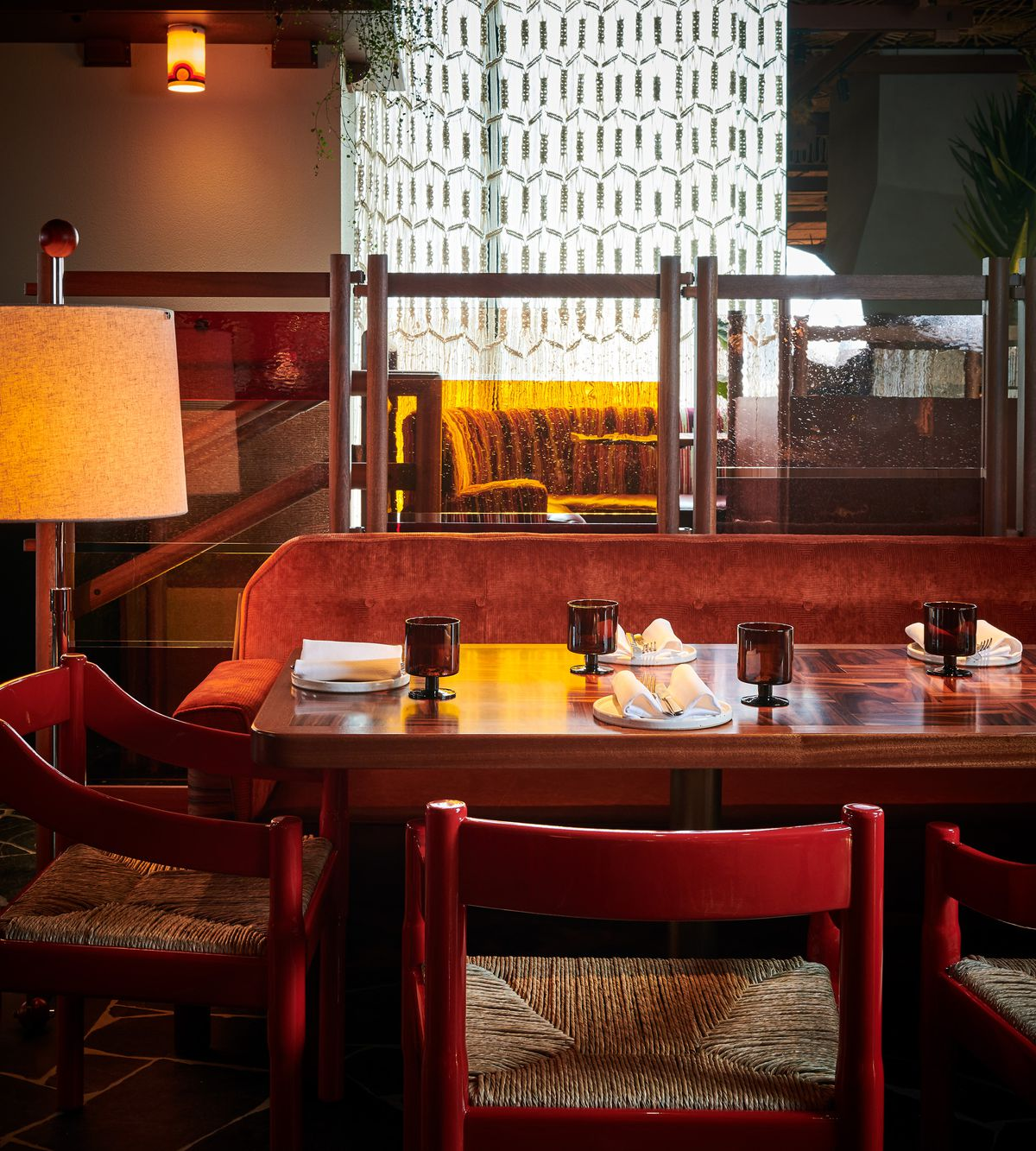 Tables at Decimo, the new King's Cross restaurant by chef Peter Sanchez Iglesias at The Standard Hotel London