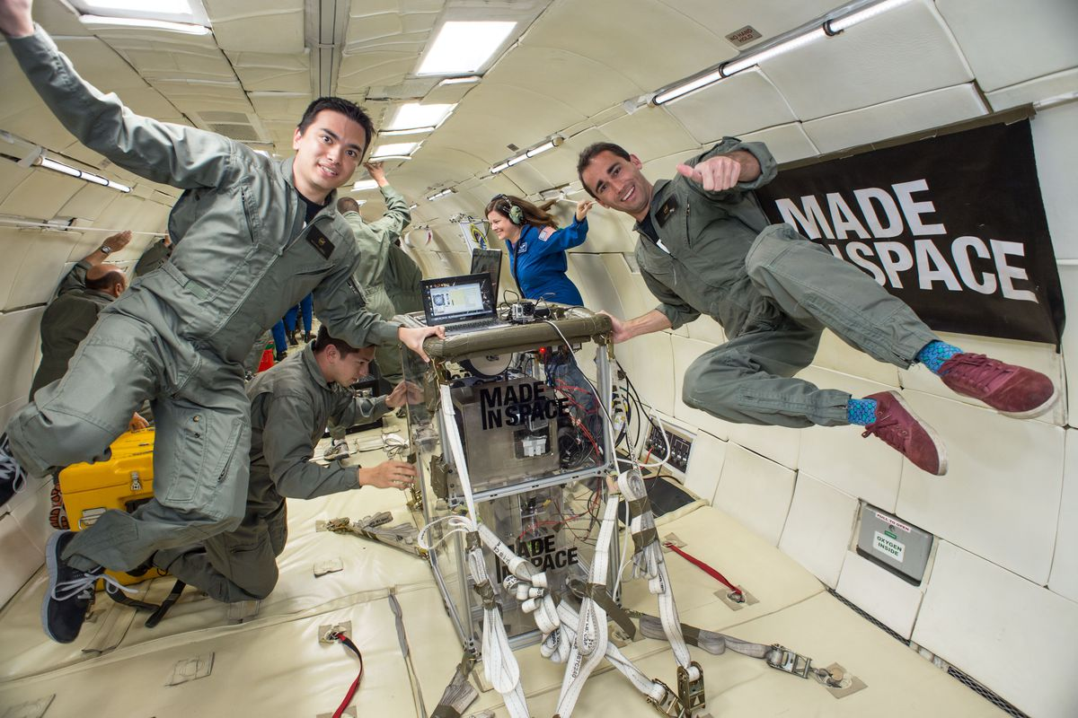 Made in Space test flight