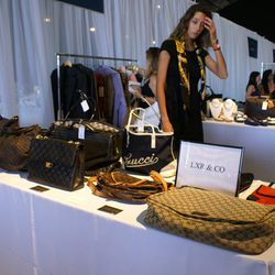 Cameron Silver's curated collection of luxe vintage finds included bags by Chanel, Gucci, Louis Vuitton and more.
