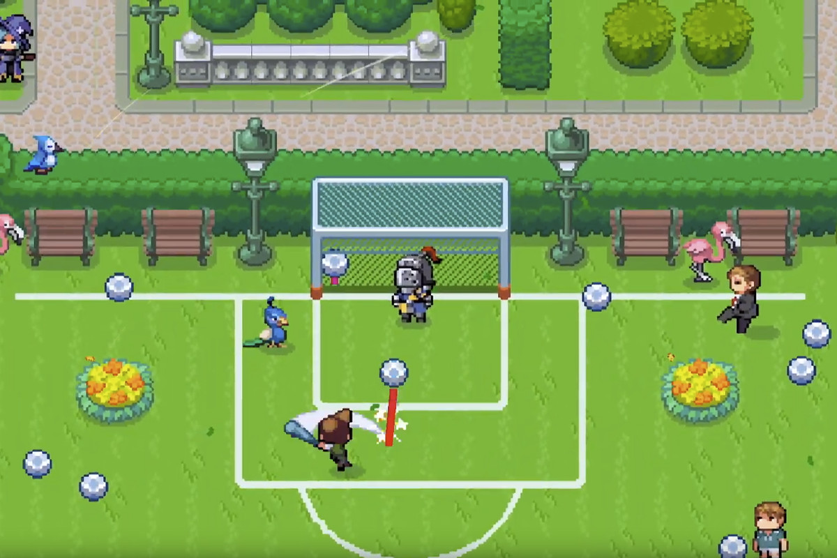 Sports Story screenshot, sequel to Golf Story