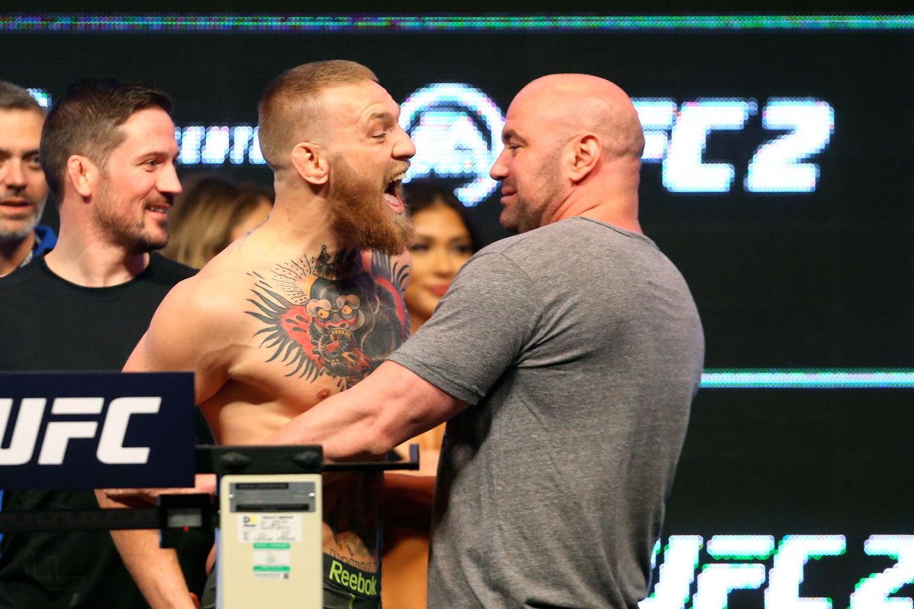 community news, Dana White talks Mayweather vs. McGregor negotiations, Conor's return, and 'disgusted' boxing fans