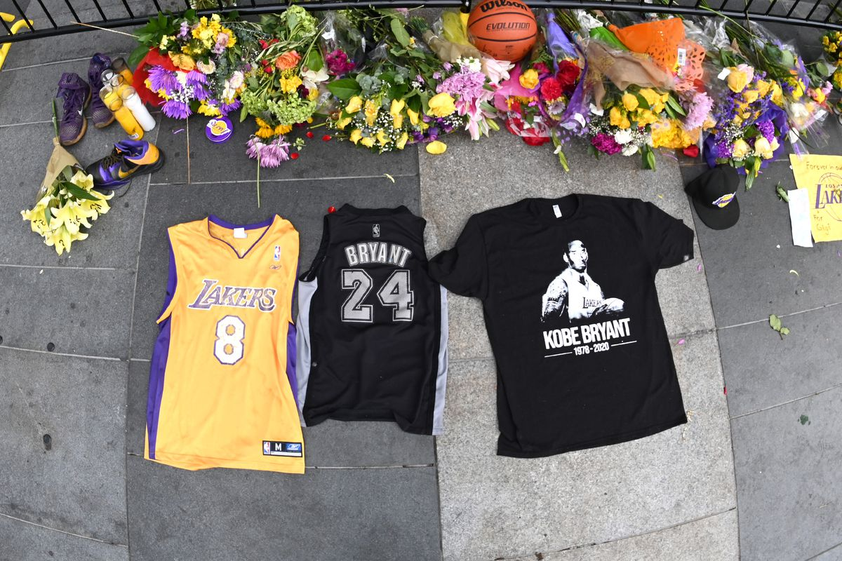 NBA: NBA:Staples Center-Kobe Bryant Tribute