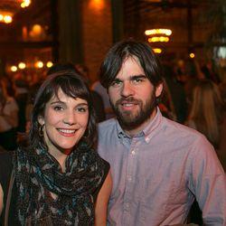 Eater Editorial Director Amanda Kludt and her husband Pablo Douzoglou