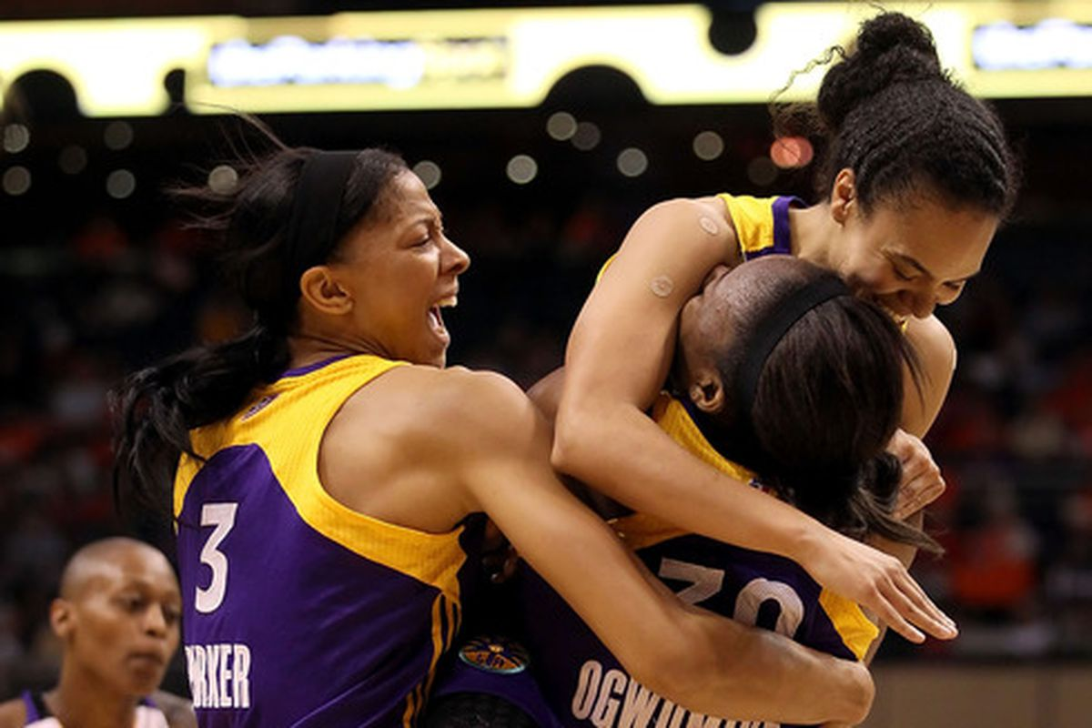 The Sparks have arguably the best player in the game, the reigning most improved player and the reigning rookie of the year.