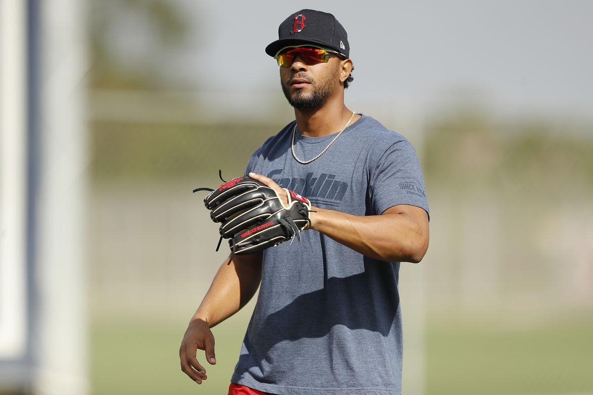 Boston Red Sox Workout