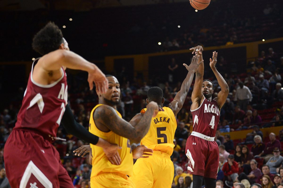NCAA Basketball: New Mexico State at Arizona State