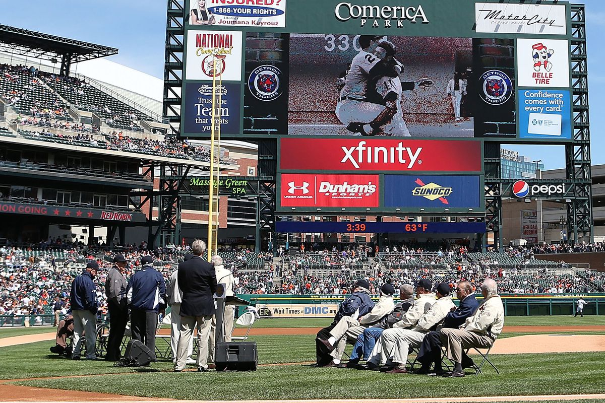Detroit Tigers History Opening Day 1968 Bless You Boys