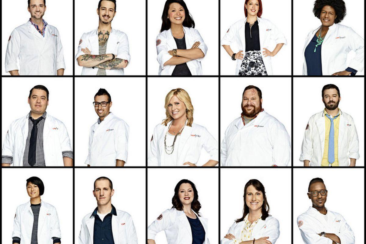 Top Chef competitors for season twelve