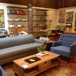"""If you managed to break a sweat from all that walking and shopping, seek shaded shelter at your last stop, <a href=""""https://www.facebook.com/Coop28handmade"""">Co-Op 28</a> (1728 N Vermont Ave). On top of stocking vintage and handmade apparel, jewelry, home"""