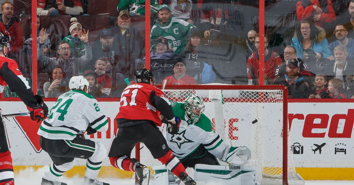 Anisimov the Hero as Ottawa Defeats Dallas in Overtime
