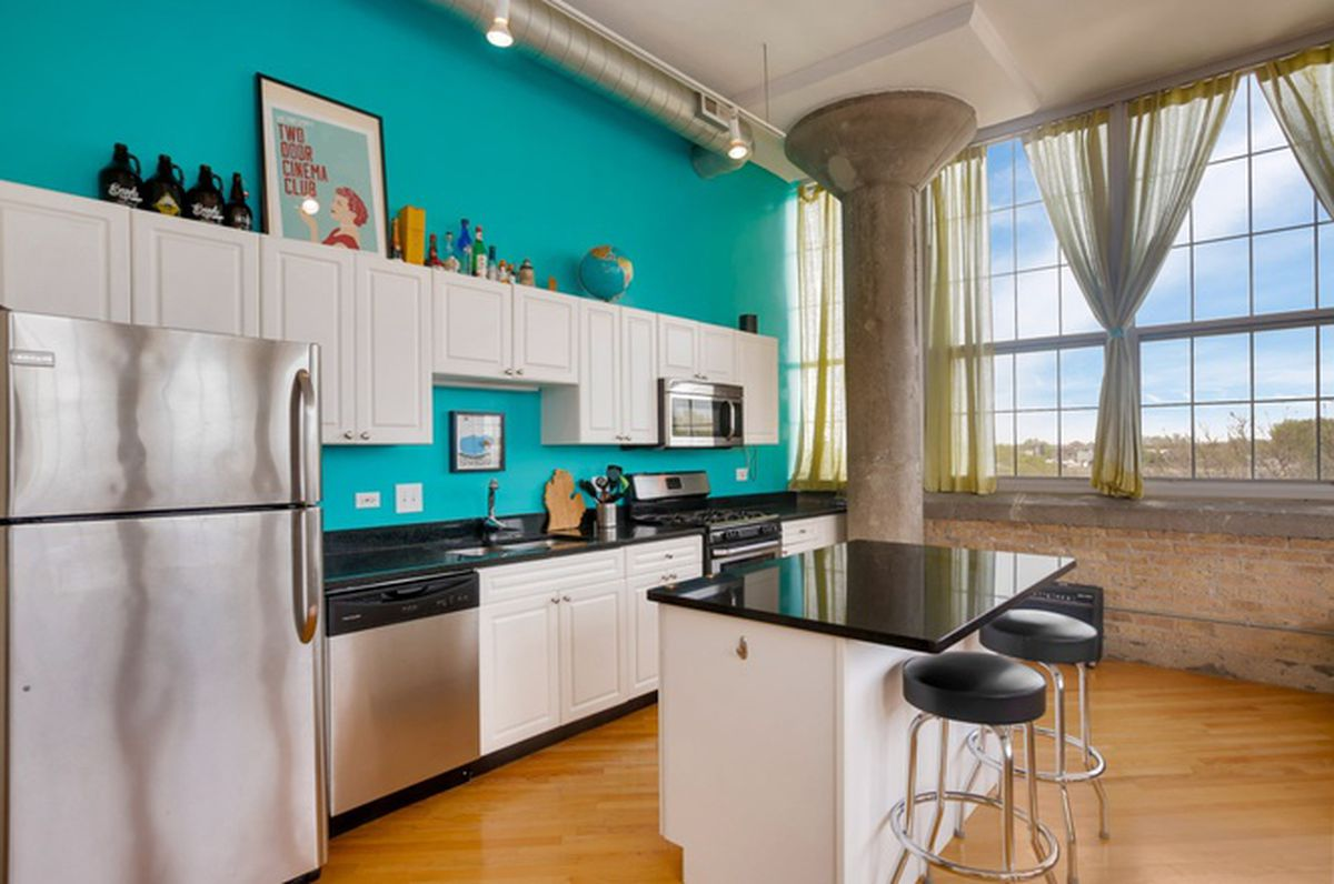 Two-bedroom condo in North Center\'s old Bell & Howell Building asks ...