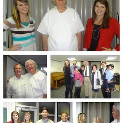 Collection of photos from Richard Marcus' baptism into the LDS Church on Dec. 9, 2012.