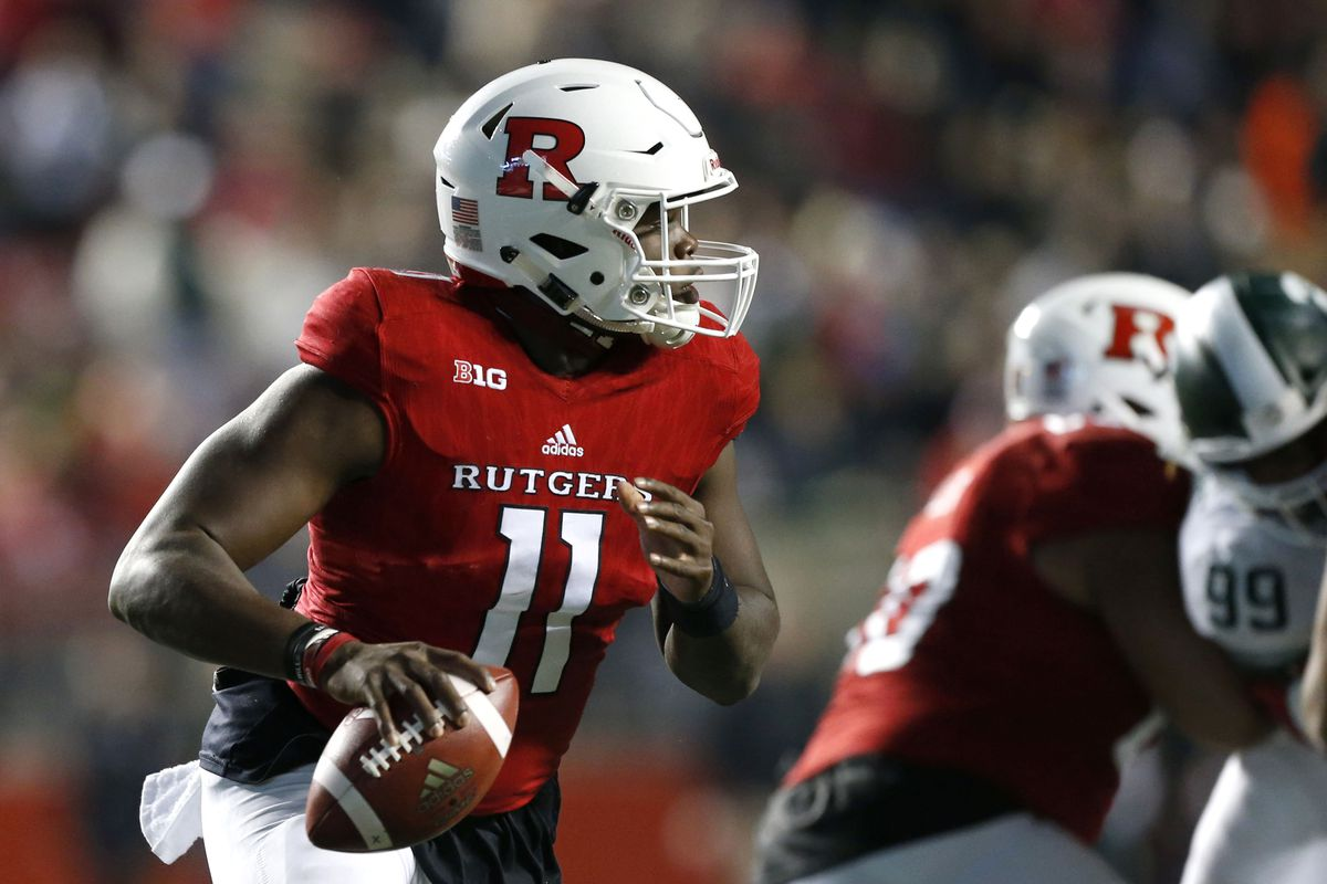 NCAA Football: Michigan State at Rutgers