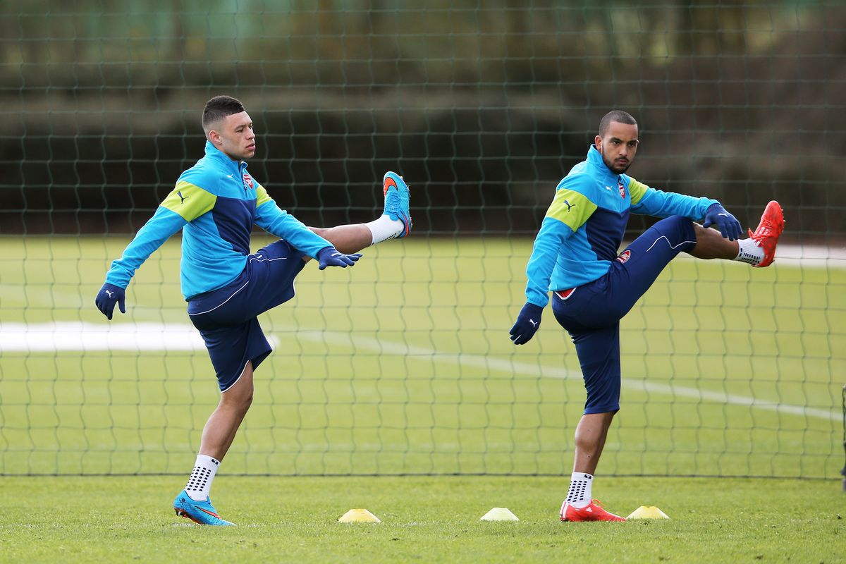 Arsenal Training Session and Press Conference