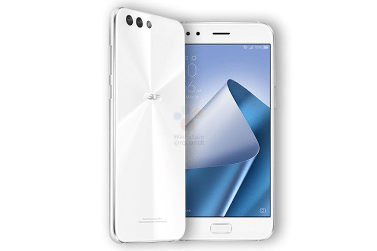 Asus Zenfone 4 Front Picture and Speaks Leak
