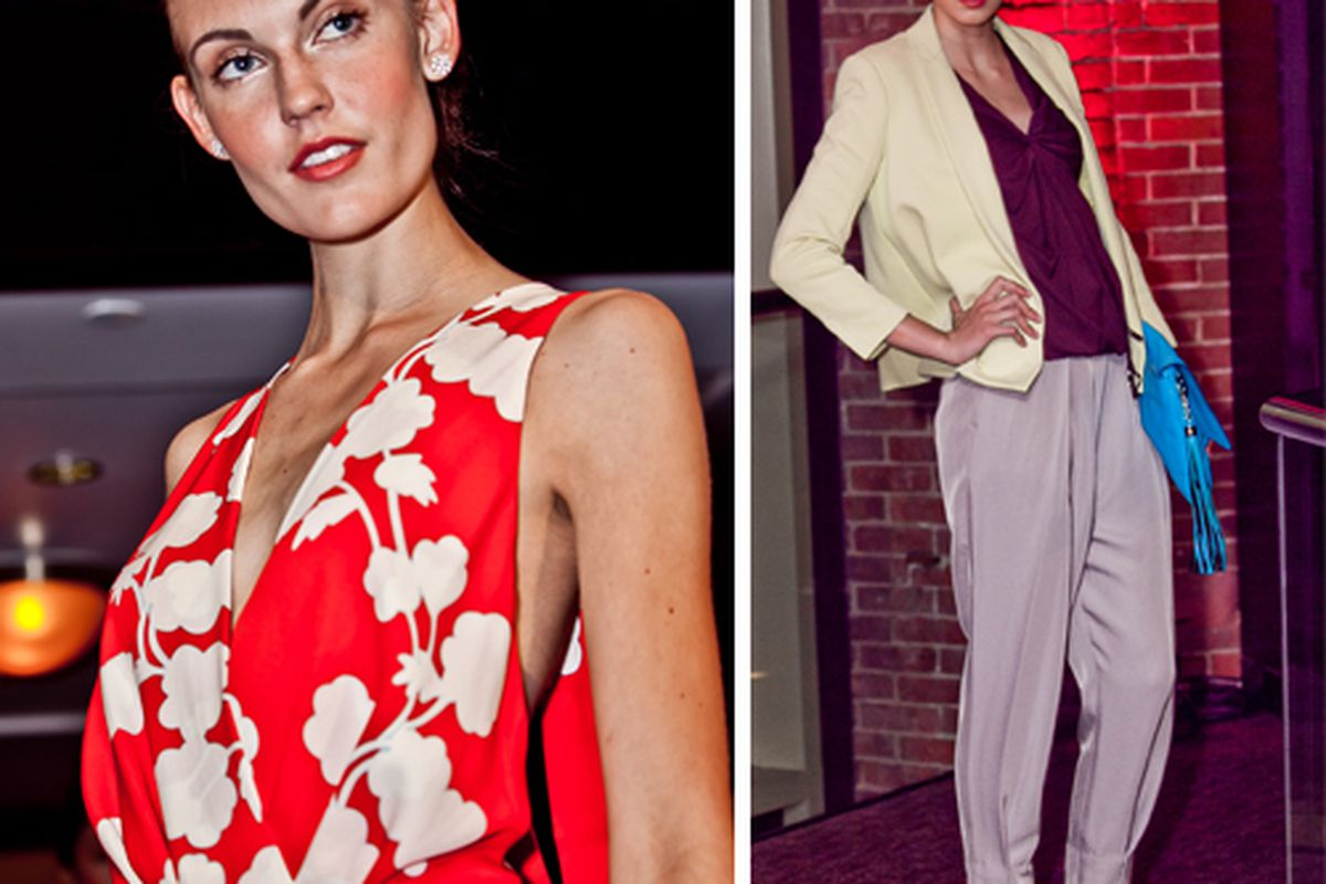 Last year's DVF show; Photos courtesy of The Liberty Hotel