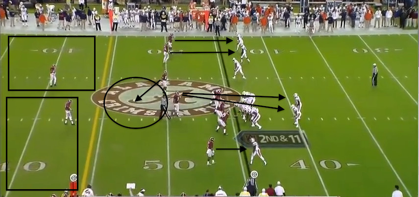 Cover 2 Robber Iron Bowl