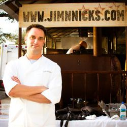 Chef Drew Robinson from Jim 'N' Nick's.