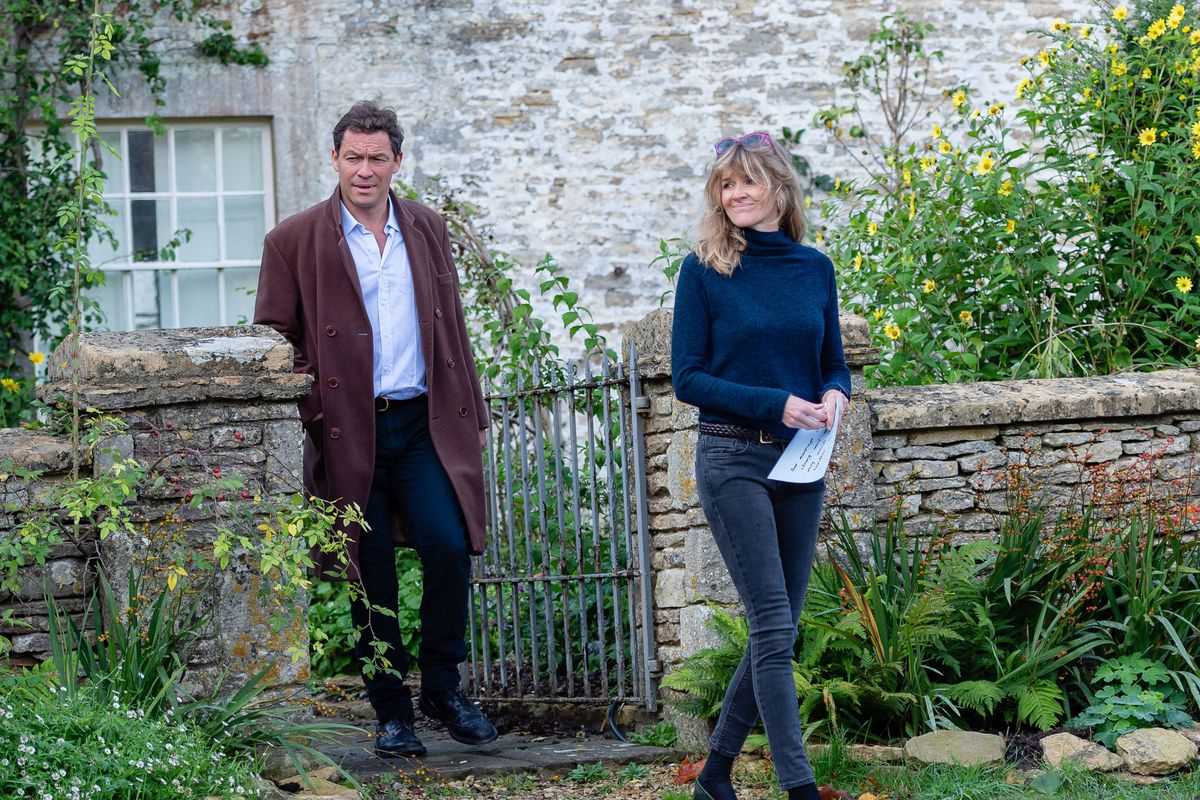 Celebrity Sightings In Cotswolds - October 13, 2020