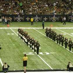 Halftime entertainment. American All-Stars, dancers from Louisiana and Mississippi.