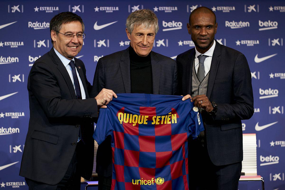 Fc Barcelona News 14 January 2020 Barcelona Fire Ernesto Valverde Hire Quique Setien Barca Blaugranes