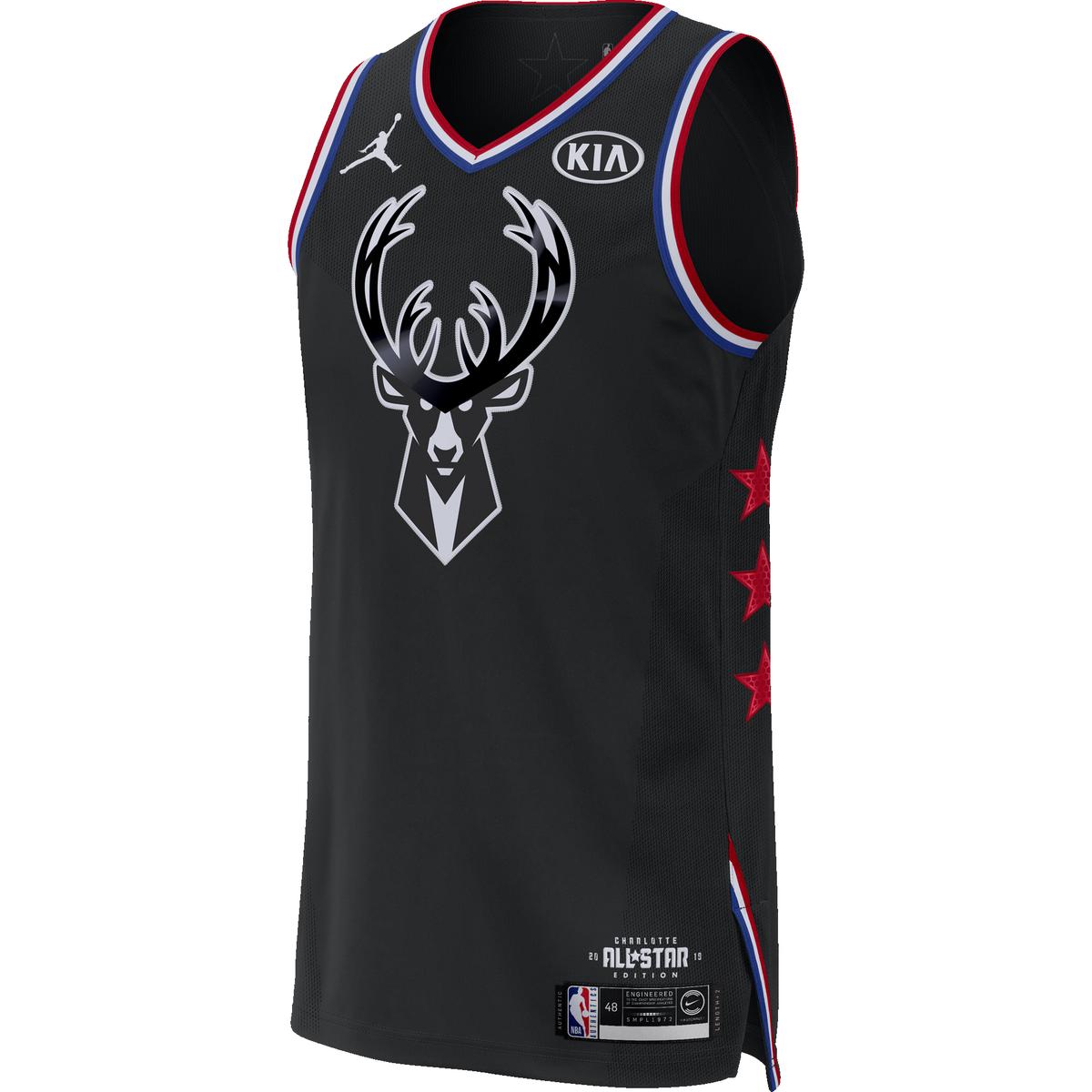 dc273295 Giannis Antetokounmpo 2019 All-Star Game Nike Swingman Jersey for $119.99  Fanatics