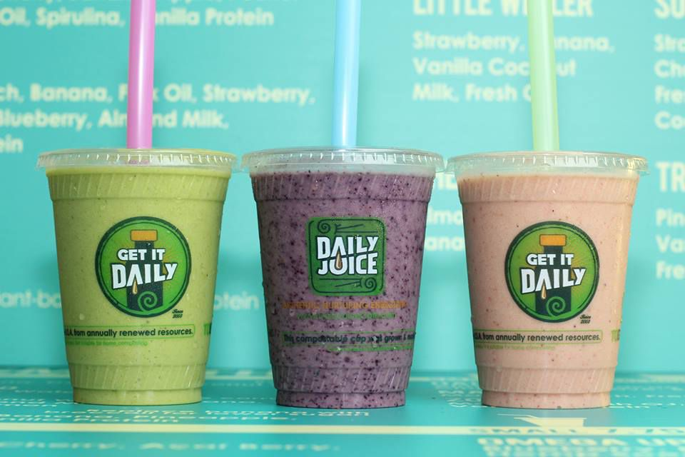 Smoothies from Daily Juice