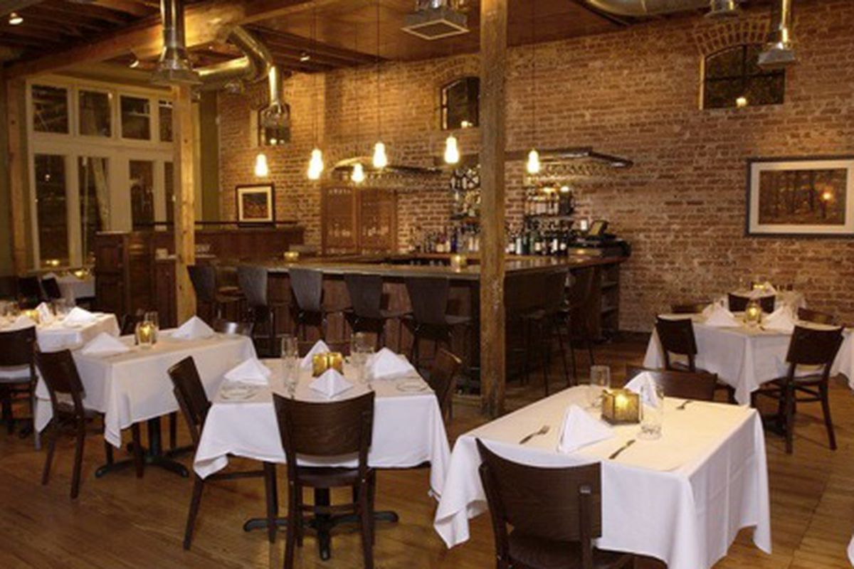 The dining room at Wisteria.