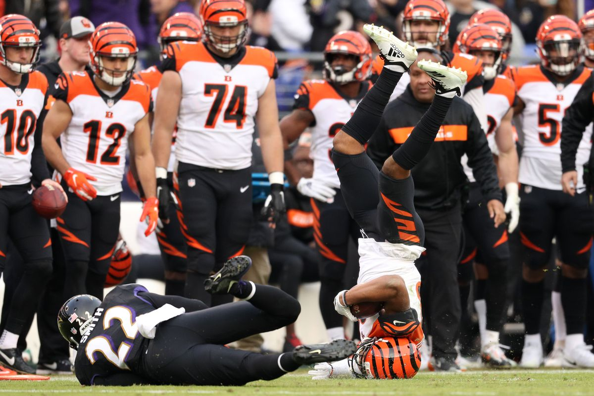 09eeb88a91d NFL Week 11  Bengals Awards for Cincinnati s 24-21 loss to Baltimore ...