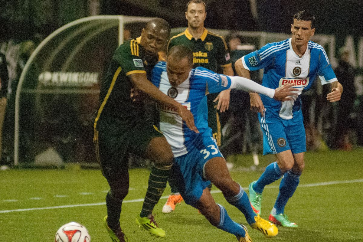 It All Starts Here: Portland Timbers vs. Philadelphia Union in Pictures